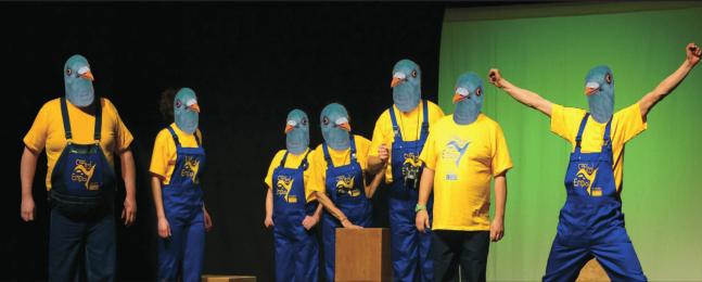 Vendredi 23 juin à 20h30 : Théâtre-action<br \>« L'impossible dressage des ramiers »