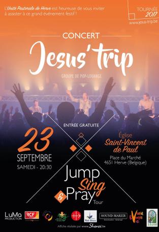 Concert de Jésus-Trip @ Eglise de Herve | Herve | Wallonie | Belgique