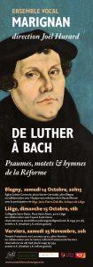 Psaumes autour de la Réforme @ Temple protestant | Verviers | Wallonie | Belgique