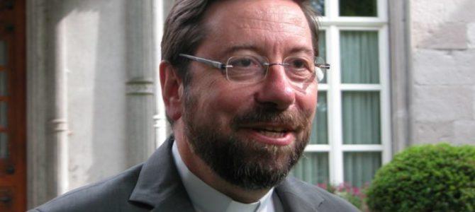 Jeudi 5/12 à 20h à St Joseph : conférence de Mgr Delville «L'Évangile de la paix et le monde d'aujourd'hui»