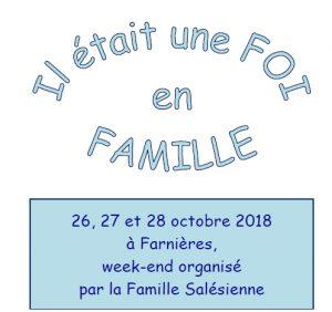 Il était une Foi en Famille @ Centre Don Bosco Farnières Asbl | Vielsalm | Wallonie | Belgique