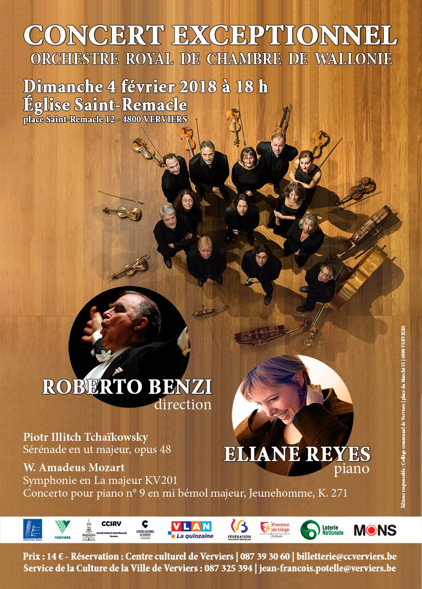 Concert exceptionnel @ Eglise Saint Remacle