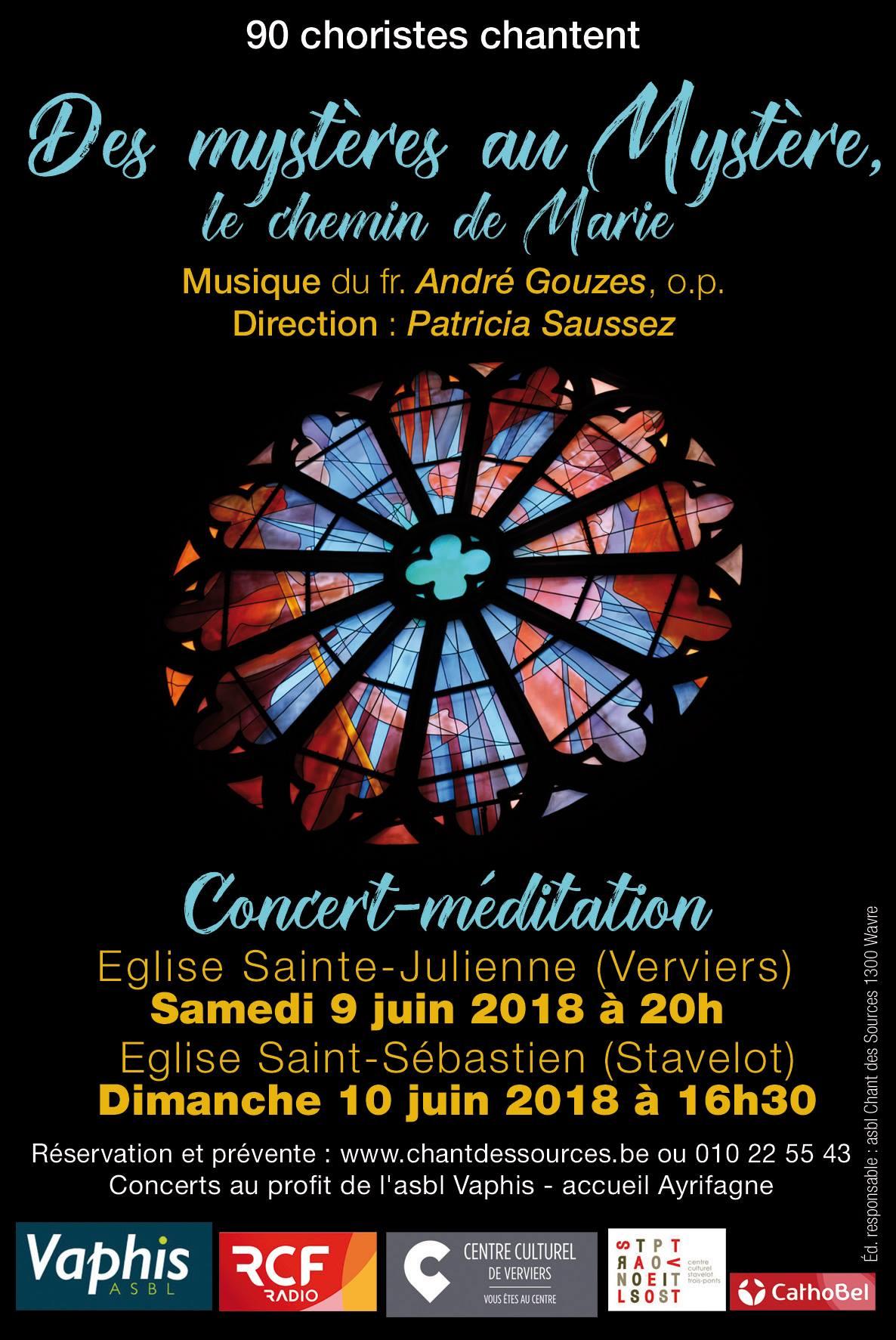 Concert-méditation avec 90 choristes @ Eglise Sainte Julienne | Verviers | Wallonie | Belgique