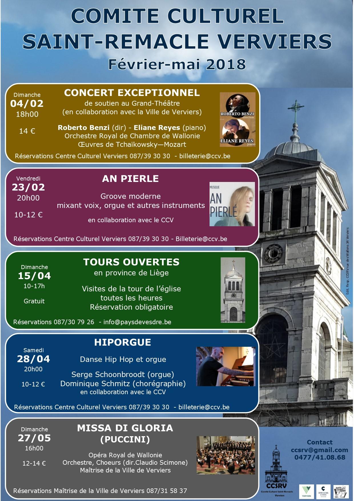 Concert de An Pierlé «Cluster» @ Eglise Saint Remacle | Verviers | Wallonie | Belgique