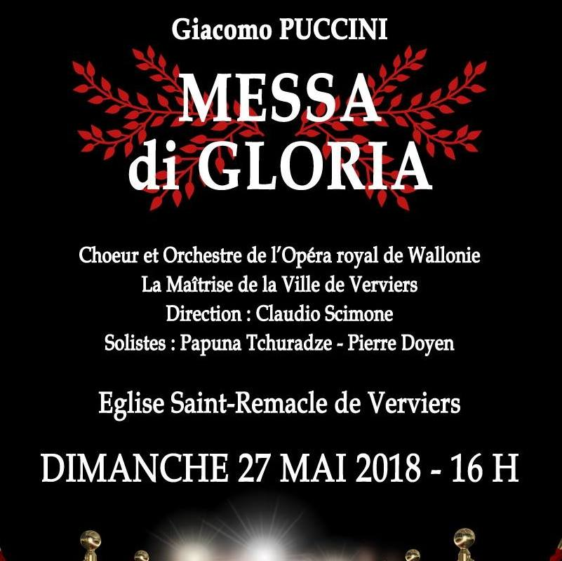 Missa Di Gloria (Puccini) @ Eglise Saint Remacle | Verviers | Wallonie | Belgique