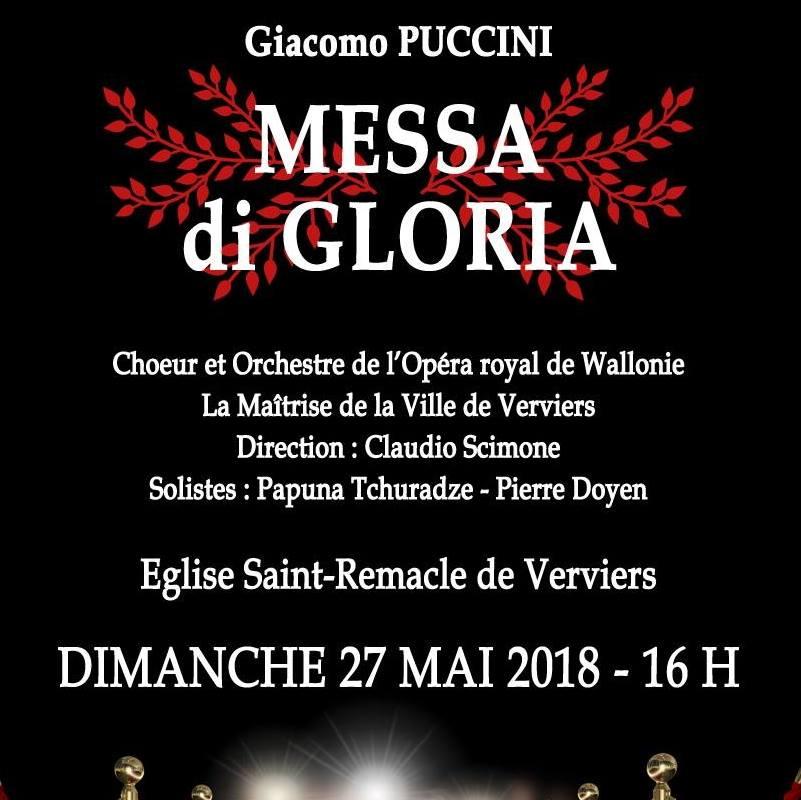 Missa Di Gloria (Puccini) @ Eglise Saint Remacle | Verviers | Wallonie | Belgique