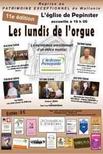 Les lundis de l'orgue @ Eglise de Pepinster | Pepinster | Wallonie | Belgique