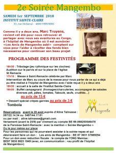 Messe célébrée par Marc Truyens @ Saint Remacle