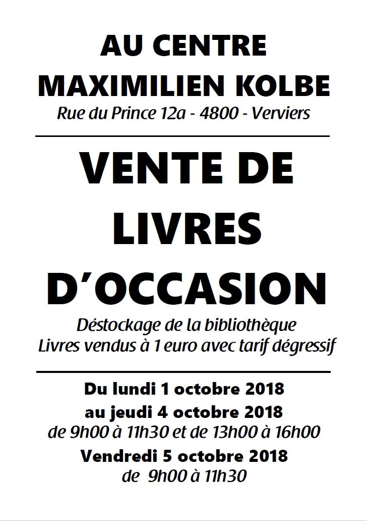 CMK - Vente de livres d'occasion @ CMK | Verviers | Wallonie | Belgique