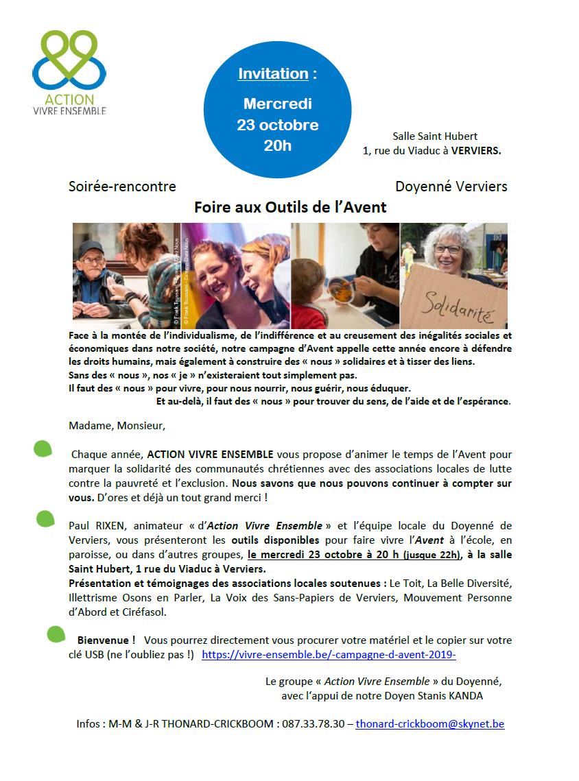 Foire aux outils de l'Avent @ Salle Saint Hubert | Verviers | Wallonie | Belgique