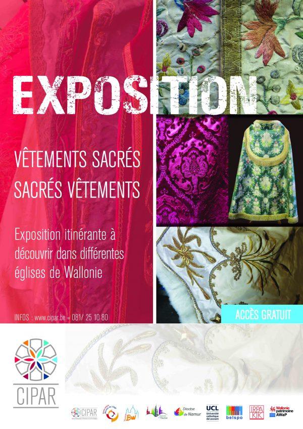 Exposition«Vêtements sacrés – sacrés vêtements» @ Notre-Dame des Récollets