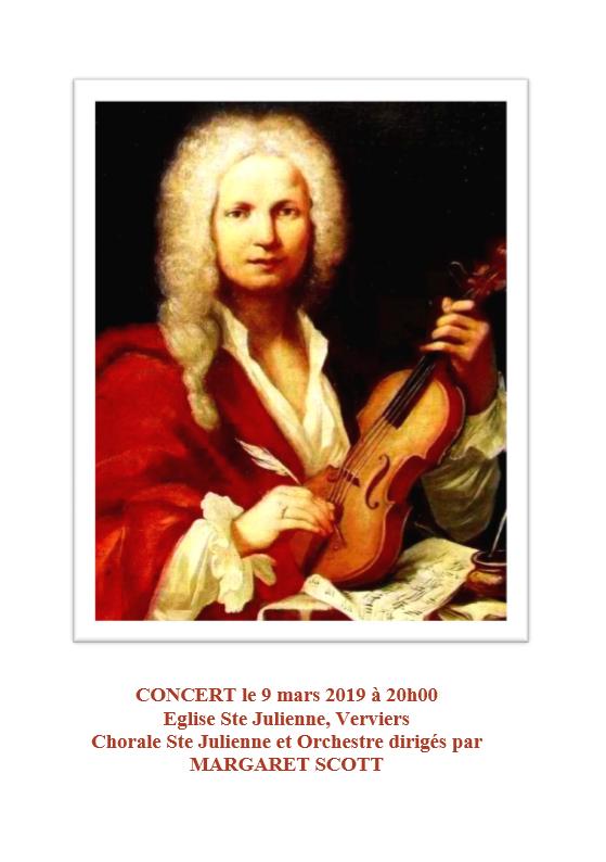 Chorale Ste Julienne et Orchestre @ Eglise Ste Julienne | Verviers | Wallonie | Belgique