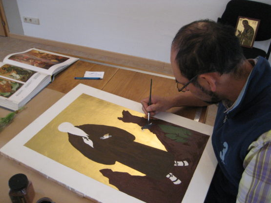 Stage d'écriture d'icônes @ Monastère de Wavreumont | Malmedy | Wallonie | Belgique