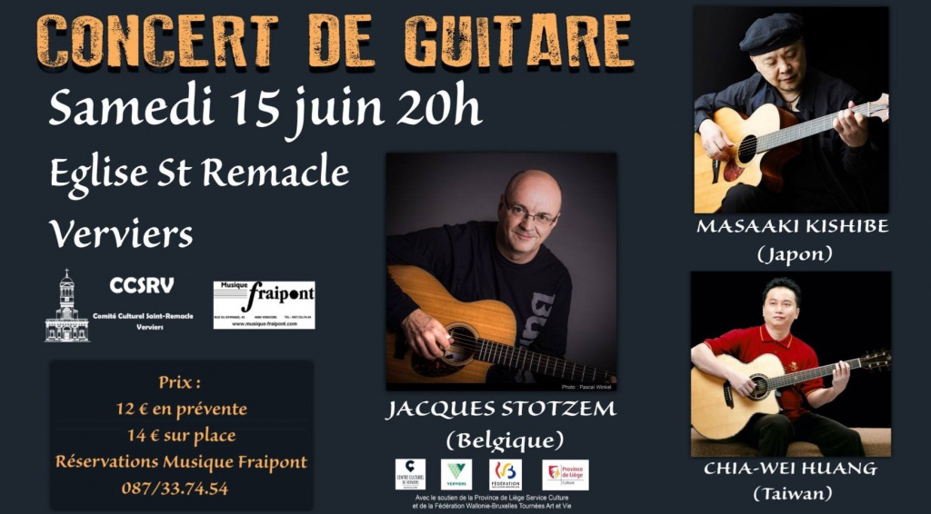 Guitare et fingerpicking @ Saint Remacle