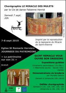 Exposition et défilé de broderies et vêtements liturgiques @ Eglise Saint Remacle
