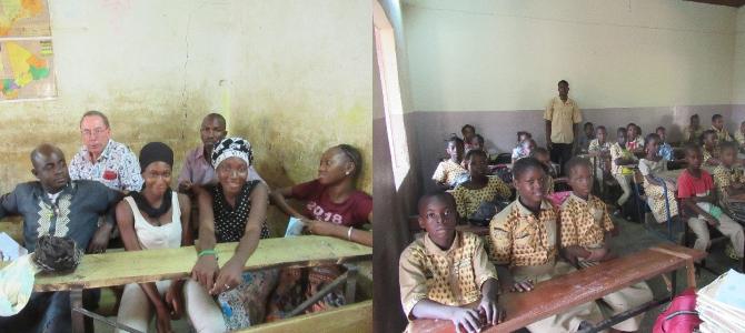 Mali : merci de la part des élèves et enseignants de l'école Pierre Villié de Kayes