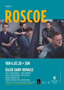 Concert ROSCOE @ Eglise St Remacle