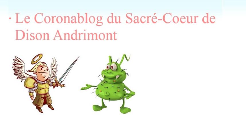 Corona Blog de l'UP Sacré-Coeur de Dison-Andrimont